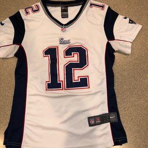 Small/medium ladies Tom Brady Patriots jersey